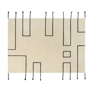 Dywan Wool Rug Nordic Lines Natural 240x170 cm, LORENA CANALS