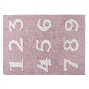 Dywan Numeros Rosa/Pink 160x120 cm, LORENA CANALS