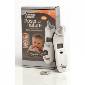 Termometr cyfrowy do ucha Closer to Nature, TOMMEE TIPPEE