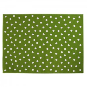Dywan Dots Green 160x120 cm, LORENA CANALS