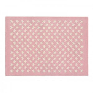 Dywan Wool Rug Little Stars Soft Pink 200x140 cm, LORENA CANALS