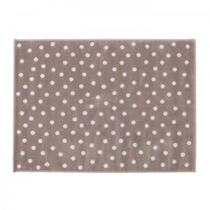 Dywan Dots Dark-Grey Blue 200x140 cm, LORENA CANALS