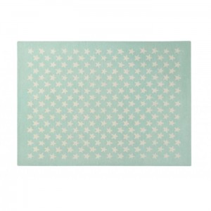 Dywan Wool Rug Little Stars Soft Mint 200x140 cm, LORENA CANALS