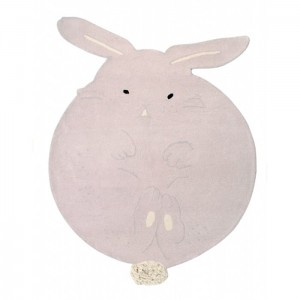 Dywan Wool Rug Chubby The Bunny 200x150 cm, LORENA CANALS