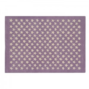 Dywan Wool Rug Little Stars Wood Rose 200x140 cm, LORENA CANALS